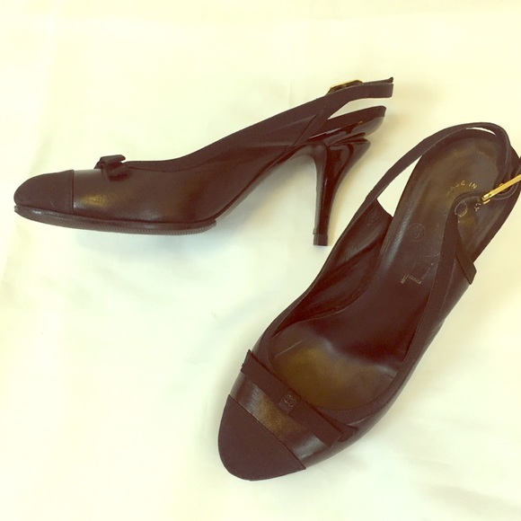 b85707e706 CHANEL Shoes | Cap Toe Slingbacks | Poshmark
